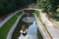 Завершение реконструкции Лебяжьего пруда