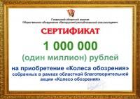 Миллион рублей на колесо обозрения