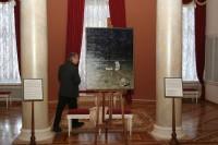 Выставка  одной картины художника Петра Лукьяненко «Мертвый день»