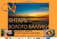 Выставка «Янтарь – золото Балтики»