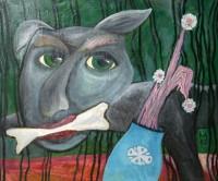Выставка живописи художника-авангардиста Владимира Акулова