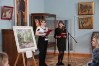 Выставка одной картины В. Ф. Казаченко «Цветут сады»