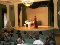 В Белой гостиной дворца Румянцевых и Паскевичей состоялись традиционные белорусско-украинские Рождественские «светские рауты»