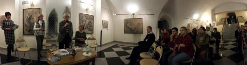 Творческая встреча с художником из Санкт-Петербурга Мариной Быковой