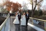 Открытие пешеходного путепровода через Билецкий спуск в Гомельском парке