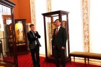 Встреча депутата Левшунова Олега Федоровича с коллективом Гомельского дворцово-паркового ансамбля
