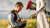 Признание в любви  под рыцарскими знаменами