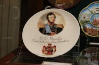 Выставка сувенирной продукции в центральной части дворца Румянцевых и Паскевичей
