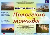 Выставка пейзажной фотографии Виктора Босака «Полесские мотивы»
