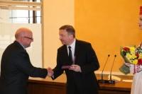 Награждение государственной медалью Франциска Скорины заместителя директора музея Литвинова В.А.