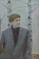 Выставка одной картины «Портрет И. Мележа»