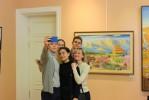 """Выставка """"Японская весна"""" Марины Быковой."""