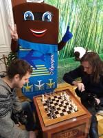 Шоколадный шахматно-шашечный турнир