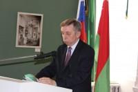 Торжественная церемония передачи копий архивных материалов из Архива внешней политики Российской империи Министерства иностранных дел Российской Федерации.